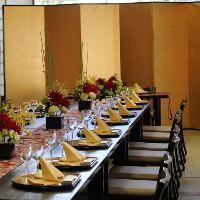 レストラン【万葉】 1階 専用の椅子・テーブルも完備