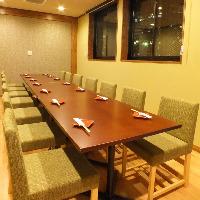 【完全個室】最大18名様ご利用頂けるお部屋も御座います!