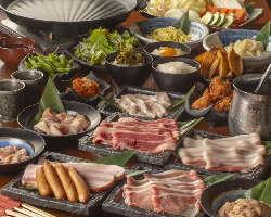 【九州を味わうコース】 名物料理が一堂に会す贅沢なコース