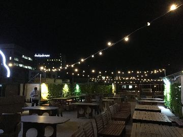 星空ビアガーデン&バーベキュー 仙台フォーラス屋上
