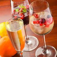 【種類豊富なワイン】 お肉に合うワインをいつも豊富にご用意♪
