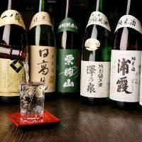様々な宮城県の地酒を楽しんでいただけます。