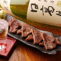 仙台名物牛たんを柔らかく焼き上げました。