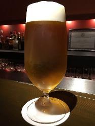 仙台では珍しいビールも数種ご用意。