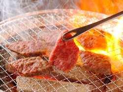 【本格焼肉も味わえる!】 炭火七輪で食べれちゃいます♪