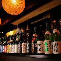 季節ごとの日本酒を20銘柄以上ご用意 !