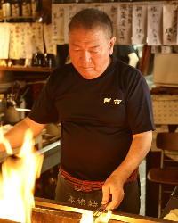 熟練の技で珠玉の味わいを届ける店主の百武稔氏