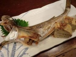 卵(ブリッコ)が入った生の雌 のハタハタ!日本酒に合います