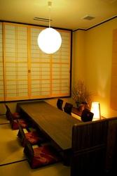 全室個室のお座敷席はご宴会など ゆっくりとして頂けます。