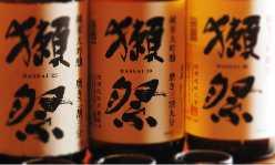 獺祭フェア開催中!希少価値の高い酒をご堪能ください。