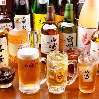 【プレミアム飲み放題】 地酒20種類が飲み放題でもご注文可能