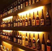 日本酒、焼酎好きにはうれしい、種類豊富!!