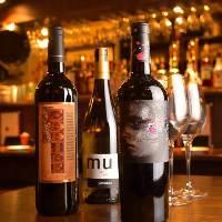 ボトルワインは2000円台とリーズナブルな物が中心