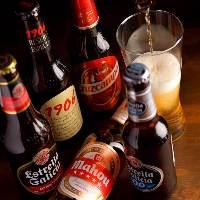 スペイン産ビールあります!