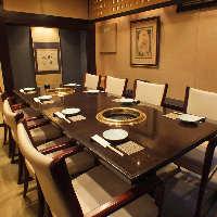 人気の畳のテーブル席。4階は最大20名様まで。予約がおすすめ!
