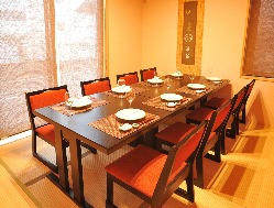 完全個室で寛ぎながら両家の顔合わせに最適な空間をご提供します
