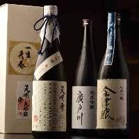 福島の地酒をご用意しております。