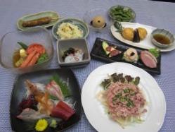 おまかせ3000円(税抜き)コース(お料理のみ)
