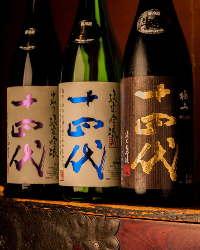 親方厳選の地酒・日本酒 本格焼酎を豊富に取り揃えております。