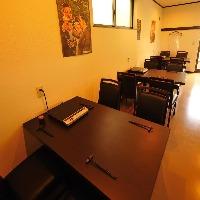 【テーブル席】 4名席×3テーブル