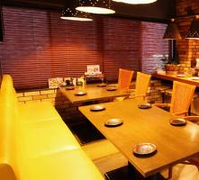 【4名様~】テーブルソファー席も大人気♪お子様連れも大歓迎!
