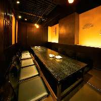 【個室空間】接待・会社宴会にも 個室は2名様〜最大60名様対応