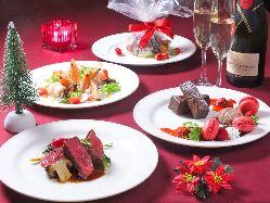 お料理+飲み放題のお得なコースは月替わりでご用意してます。