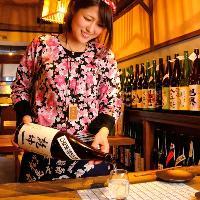 酒匠、利き酒師厳選の100種以上のお酒あります!
