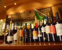 ワイン好きな方へ。ワインビュッフェ始めました♪