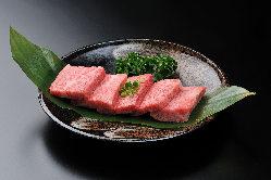 良質な仙台牛にこだわり、美味しくご提供。