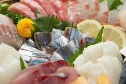 新鮮なお魚たち。