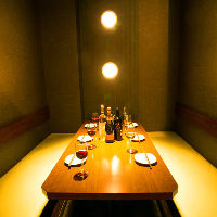 ◆モダンカジュアル〜水響庵〜◆ VIPソファー個室:6〜12名