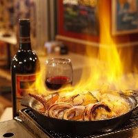 ◆炭焼&ビストロ和食◆ 名物 ア・ラ・プランチャ