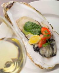 石巻産夢牡蠣のオーブン焼き 石巻ブランド牡蠣をパセリバターで