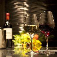 ワインのメニューも豊富です。お肉とのマリアージュを堪能。