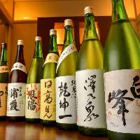 【地酒】 独自のルートでご提供する種類豊富な東北の地酒が自慢