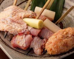 会津地鶏の歯ごたえと旨味を存分にご堪能ください。