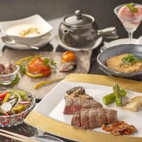 【コース】 仙台牛コースをはじめ海鮮を贅沢に使用したコースも