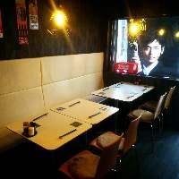 1階席のテーブル席1