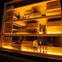 お料理に合うワインを厳選 グラスワインはタイプ別にご用意