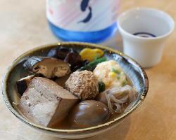福島の日本酒とおでんを