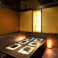 【秋田駅 徒歩3分】 全席完全個室のプライベート空間!