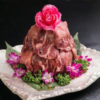 牛タン肉ケーキもご用意しています!誕生日/記念日/デートに