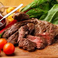 赤身肉の美味さ!『アンガス牛のロースト』