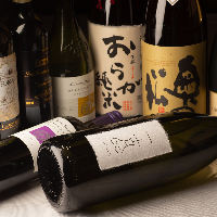 福島の地酒は常にご用意しております!