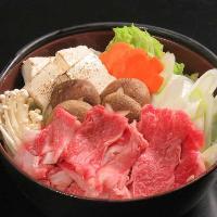 仙台牛すき焼き鍋!仙台牛の上品な味わいが口いっぱいに広がる!
