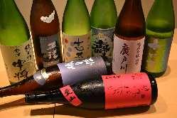 福島の地酒豊富にご用意!