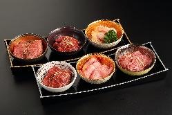 【極み盛】6種類のお肉が堪能できます。