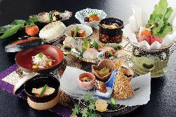 ◆ 料理長自慢の本格和会席 ◆