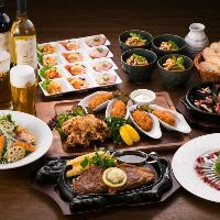 銀座ライオン&広島の名物料理を堪能のコースです!